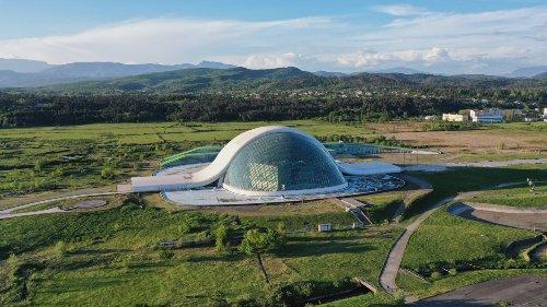Georgia's Hypermodern Parliament Building Faces Uncertain Future