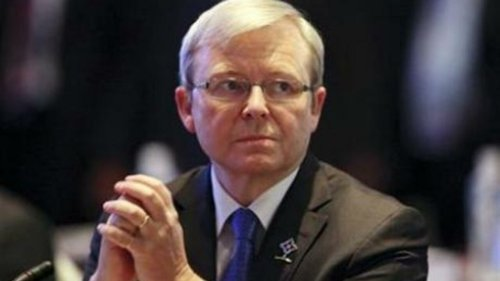Former Australian PM Rudd says submarine snub was part of wider domestic agenda