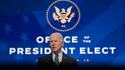 Etats-Unis: Joe Biden veut agir vite après sa prise de fonctions