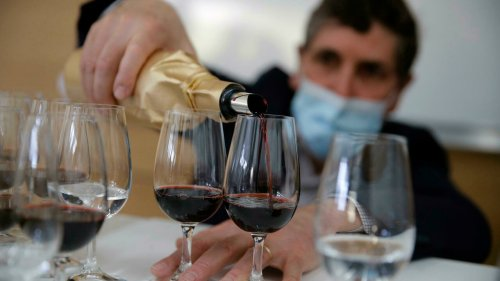 Next frontier: French team reveals secrets of wine aged in space