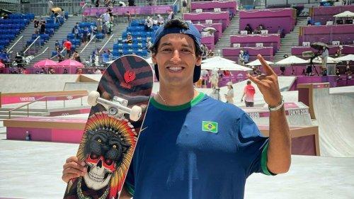 Prata no skate, Kelvin Hoefler garante primeira medalha brasileira nos JO de Tóquio