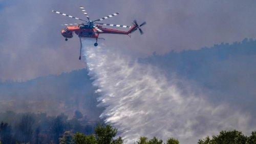 Grèce: la canicule et les incendies envahissent les réseaux sociaux