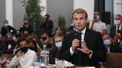 France: à Marseille, le président français Emmanuel Macron en mode «visite de chantier»