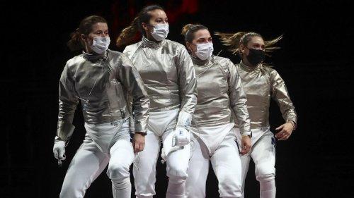 Tokyo 2021: les sabreuses françaises rapportent une médaille d'argent face aux Russes