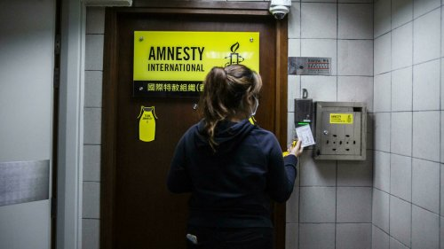 Amnesty International to close offices in Hong Kong over security law threat