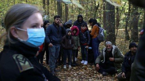 Migrants: la Pologne envoie un renfort de soldats à la frontière avec la Biélorussie