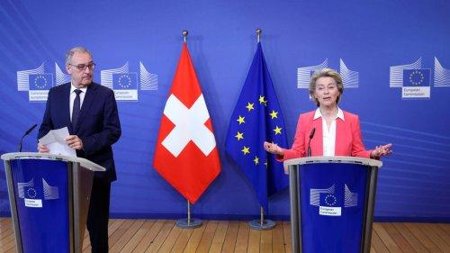 La Suisse presse l'Union Européenne de nouer un dialogue politique pour sortir de l'impasse
