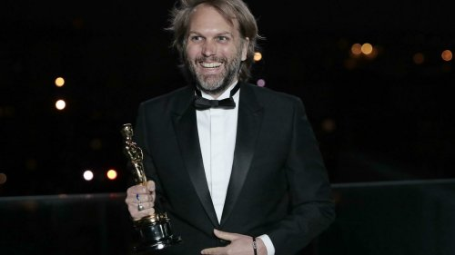 France's Florian Zeller revels in Oscar win for 'The Father'