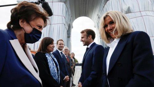 L'Arc de triomphe empaqueté par Jeanne-Claude et Christo, un moment éphémère