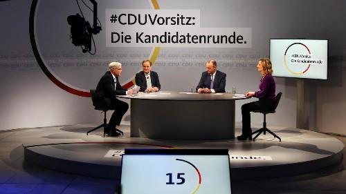 Congrès de la CDU: trois hommes et un bulletin