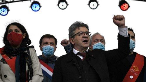 France: premier meeting de Jean-Luc Mélenchon à un an de la présidentielle