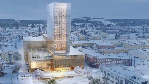 La Suède inaugure le plus haut gratte-ciel en bois au monde
