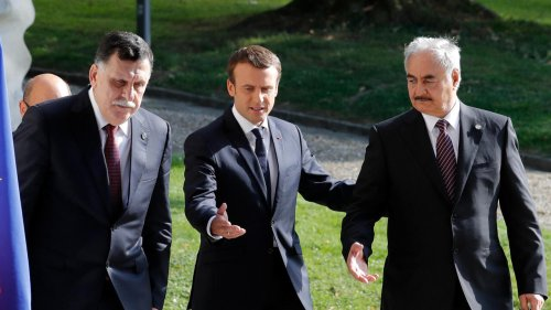 Libya's Haftar tells Macron he's committed to signing ceasefire