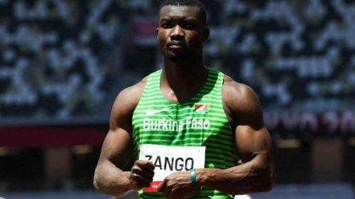 Hugues Fabrice Zango: «Je marque l'histoire du Burkina Faso aux Jeux»