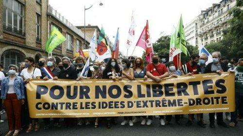 Marche des libertés en France: la gauche en ordre dispersé