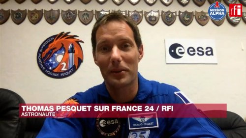 French astronaut Thomas Pesquet counts down the days to ISS mission
