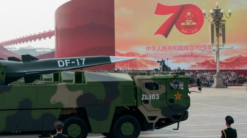 La Chine a testé un missile hypersonique en orbite, selon le «Financial Times»