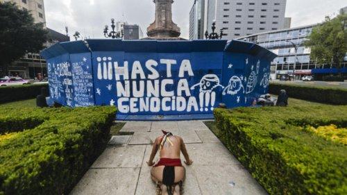 La statue d'une femme indigène remplacera Christophe Colomb à Mexico