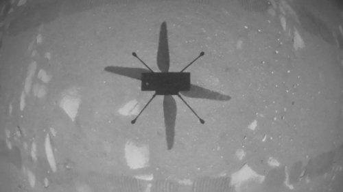 Espace: l'hélicoptère Ingenuity a volé sur Mars