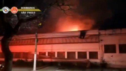 Brésil: 2 000 copies de film détruites dans l'incendie de la Cinémathèque de São Paulo