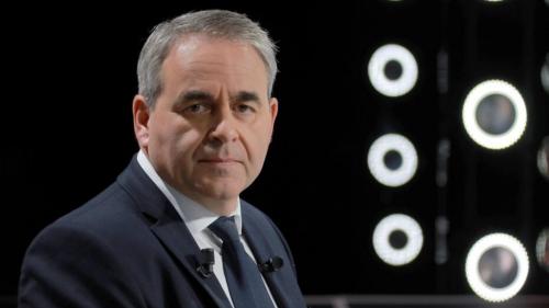 France: Xavier Bertrand passe à l'offensive sur le thème de la sécurité