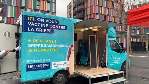 Reportage France - Vaccination contre la grippe en Seine-Saint-Denis