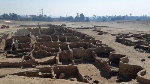 Egypte: découverte à Louxor de la «plus grande ville antique d'Égypte»