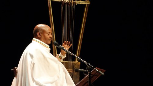 A meeting with Ethiopian musician Alemu Aga and his mesmerising begena lyre