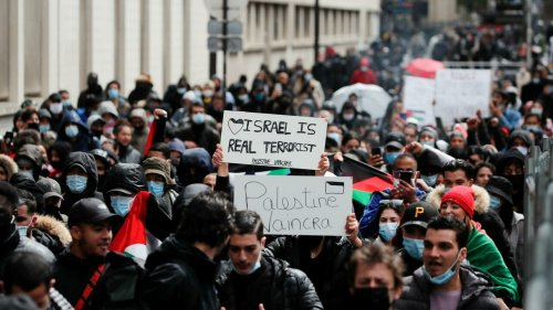 France: manifestations pro-palestiniennes dans plusieurs villes, quelques tensions à Paris