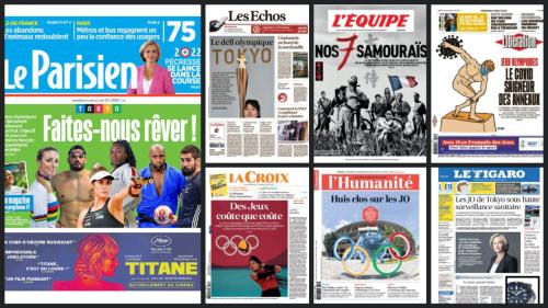 Macron é um dos poucos chefes de Estado na abertura dos Jogos Olímpicos, preparando Paris 2024
