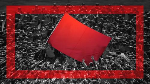 Rouge marxiste ou rouge trumpiste?