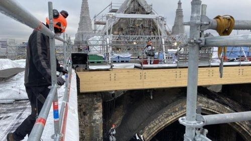 Reportage France - Les cordistes de Notre-Dame de Paris