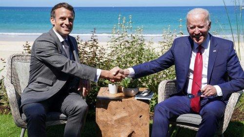 Affaire des sous-marins: Biden et Macron promettent de restaurer «la confiance»