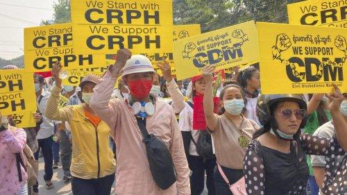 Birmanie: les députés déchus annoncent la formation d'un «gouvernement d'unité nationale»