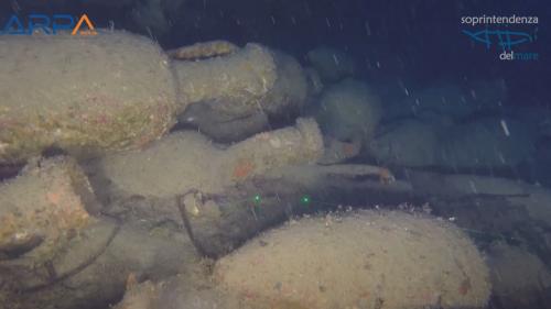Italie: une épave romaine vieille de 2000 ans découverte au fond de la mer