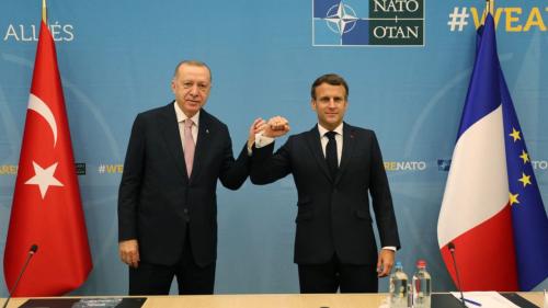 埃尔多安在布鲁塞尔和法国总统举行会晤