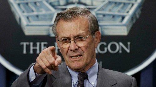 Rumsfeld, cocksure architect of Iraq war, dead at 88 - RFI
