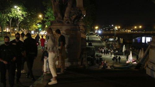Police shut down Paris street parties held past curfew
