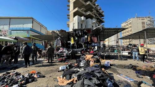 Жертвами взрывов в Багдаде стали не менее 28 человек