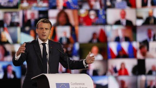 Macron and Strasbourg mayor Barseghian hail return of European Parliament