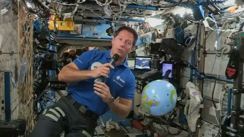 Coldplay's single from ISS 'tries to find the astronaut in all of us' - Thomas Pesquet