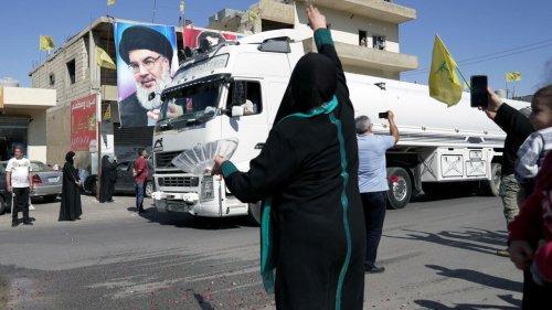 Le Liban se réjouit de l'arrivée de fioul iranien acheminé par le Hezbollah