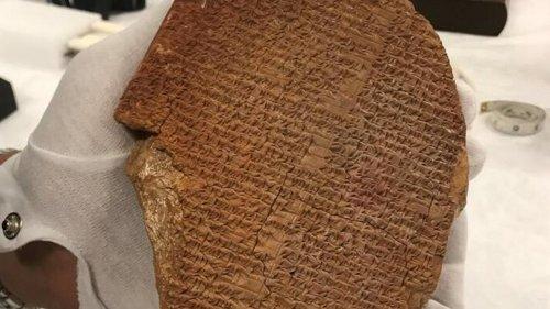 Les États-Unis restituent 17.000 pièces archéologiques exceptionnelles à l'Irak