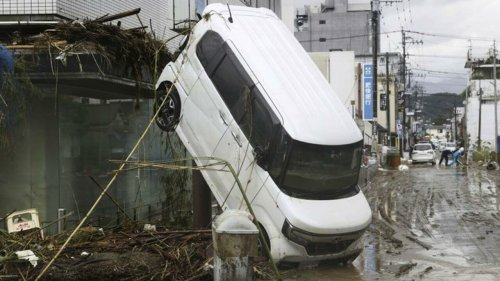Rain hampers rescue efforts as 50 feared dead in Japanese flooding