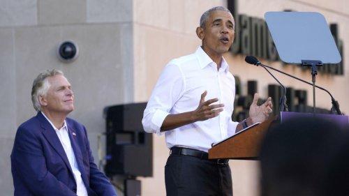 États-Unis: en Virginie, l'ancien président Barack Obama attaque les républicains