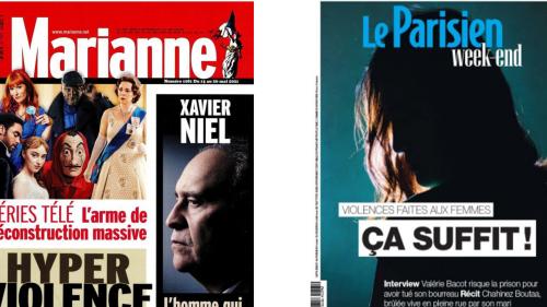 Revue de presse française - À la Une: de la violence, beaucoup de violence