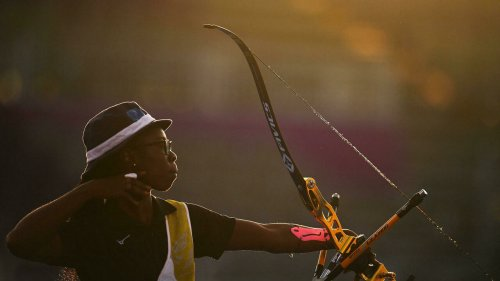 Tokyo 2021: l'archère tchadienne Marlyse Hourtou est sortie de l'ombre
