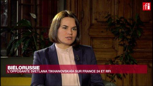 Svetlana Tikhanovskaïa: «On a sous-estimé la férocité de Loukachenko»