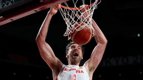 Tokyo 2021-Basket: les adieux de Pau Gasol à l'équipe d'Espagne