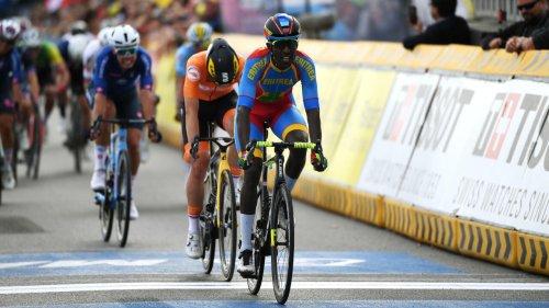 Mondiaux de cyclisme: l'Érythréen Biniam Girmay deuxième de la course espoirs